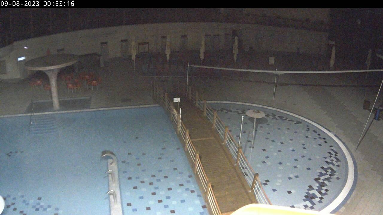 Venkovní termální bazény - webkamera v TERMÁLECH LOSINY